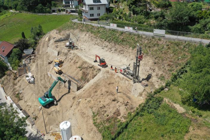 Baugrubensicherung - Alpenbau GmbH